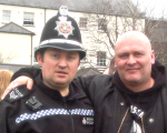 Wayne Baldwin + South Wales Police Officer 3896