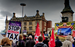 Hull Bedroon Tax and Austerity demo' 06/04/14