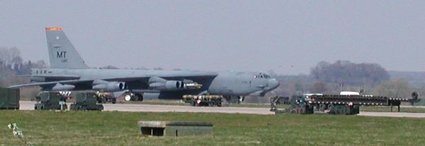Meanwhile at Fairford They're Loading Clusting Bombs