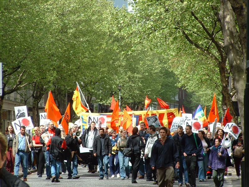 London Mayday 2003 TU Demo Photos