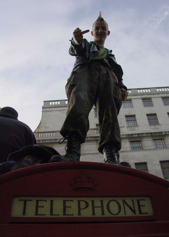 London - Mayday 2003