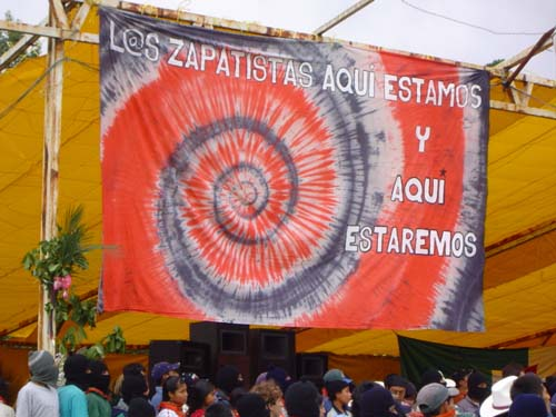The Zapatistas Here we are and here we will be
