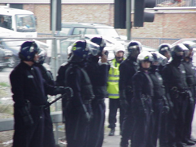 another group of riot cops