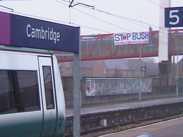 Welcome to Cambridge, City of Peace!
