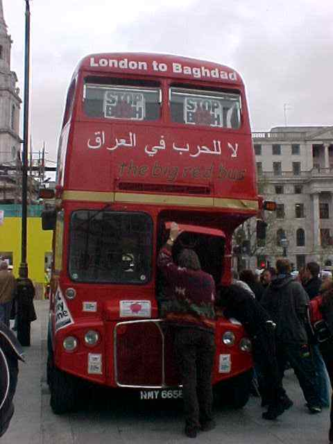 bus that went to bagdad