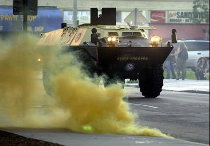 Tanks In The Streets Of Miami