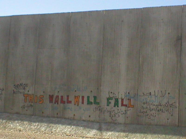 This wall will fall!