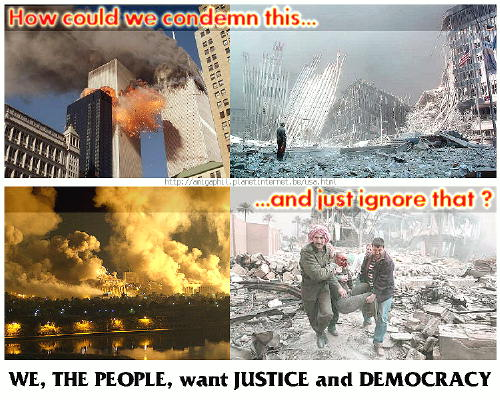 WE, THE PEOPLE, want JUSTICE and DEMOCRACY !