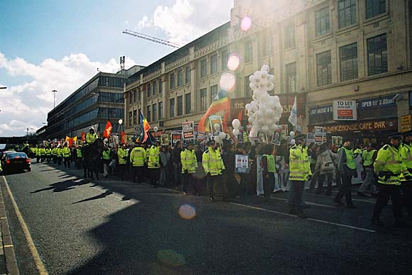 Manchester demo 3