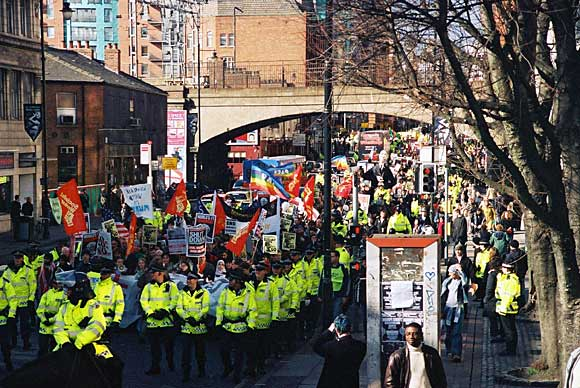 Manchester demo 5