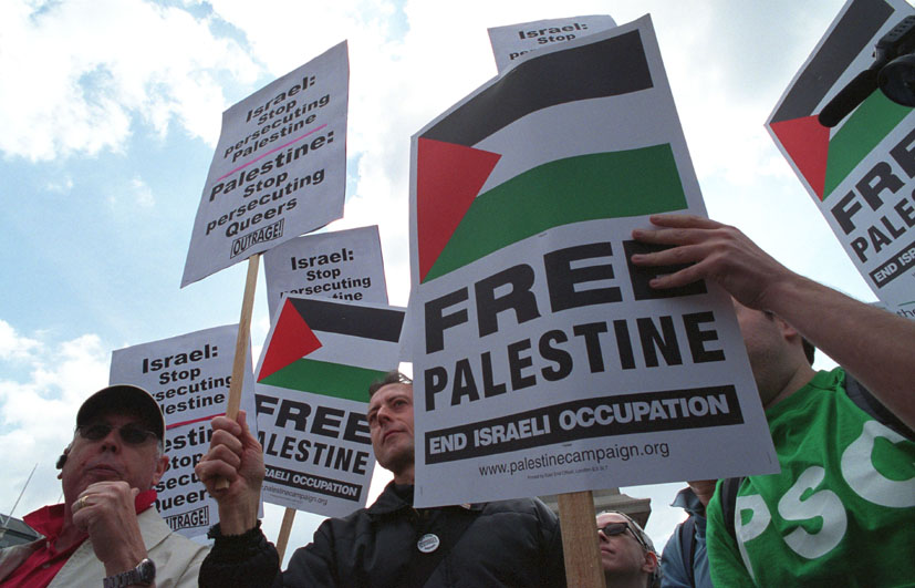 UK Indymedia - Outrage gay rights protest at Palestine rally Saturday 15th ...