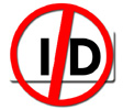 No ID Cards Logo
