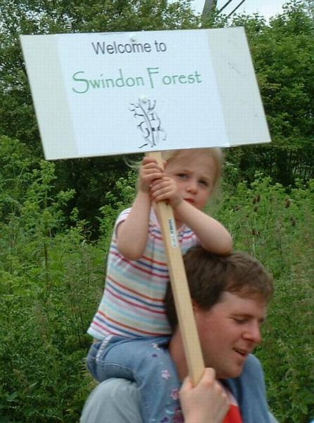 """Welcome to Swindon Forest"""