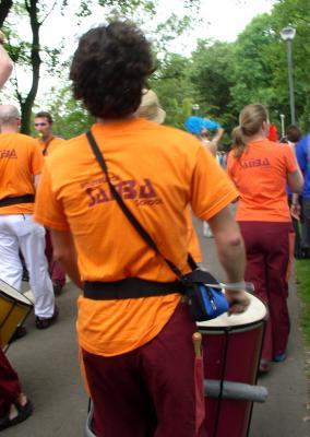 demo &Edinburgh Samba School : bringing fun and purpose together