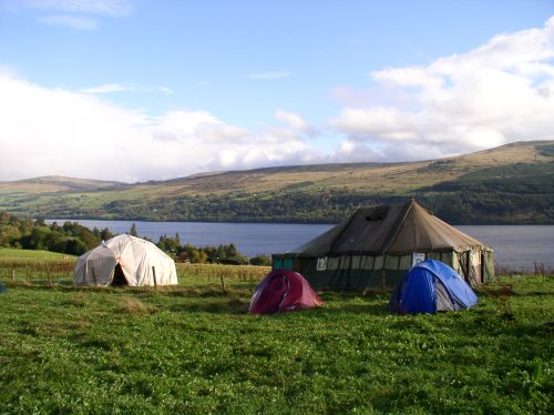 workshop spaces, camping and stunning landscape at Big Blether 4