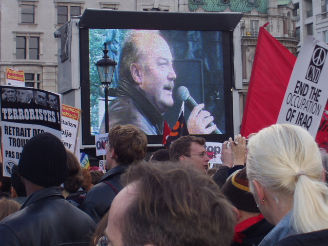George Galloway in Trafalgar Square