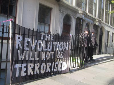 the revolution will not be terrorised!
