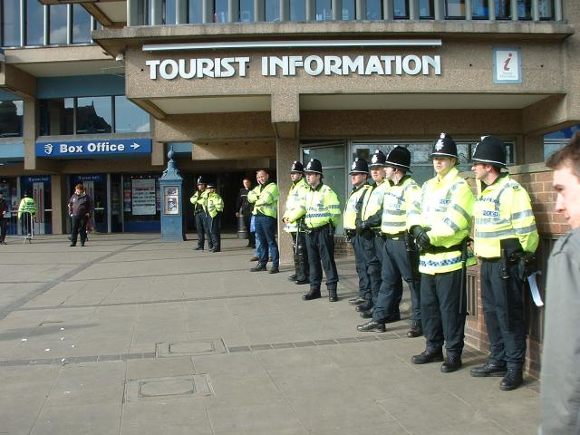 Tourists welcome in Derby