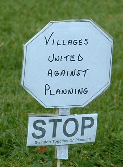Villages united against planning
