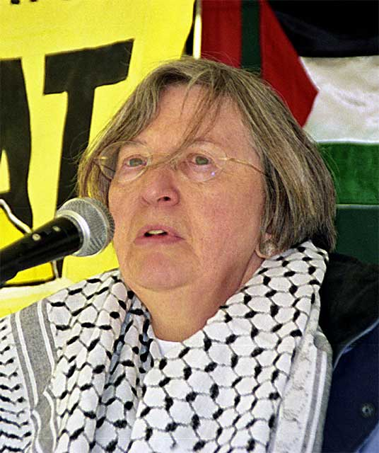 Betty from national PSC urges people to take action in solidarity with Palestine