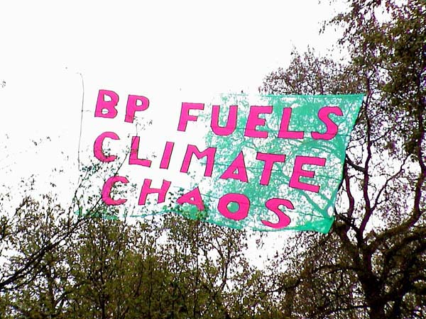 unfurled at last - BP FUELS CLIMATE CHANGE
