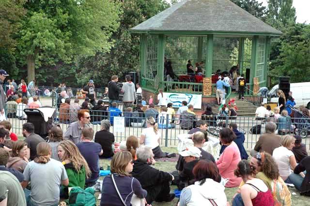 Green Festival Bandstand