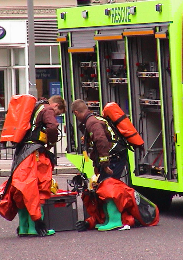 Rescue services prepare