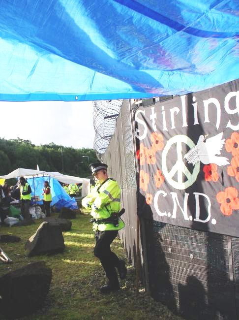 banner of stirling CND