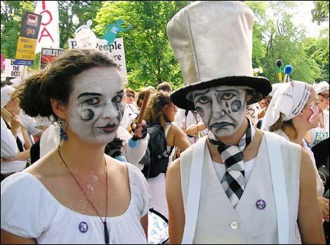 clown faces makeup. Sad clown faces, all dressed