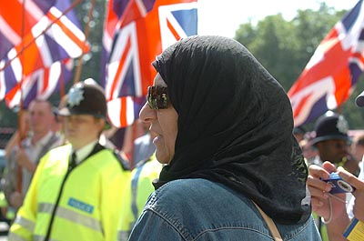 Muslims in Britain can feel intimidated, subject of racist attacks and like they do not belong