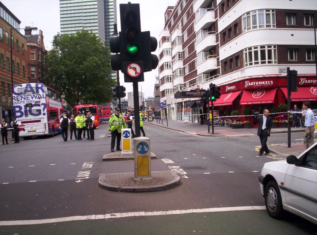 2nd Cordon as close to the station I could get to.