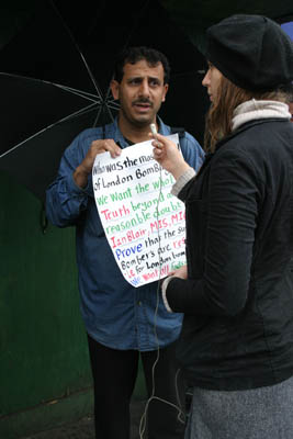 protester and journalist