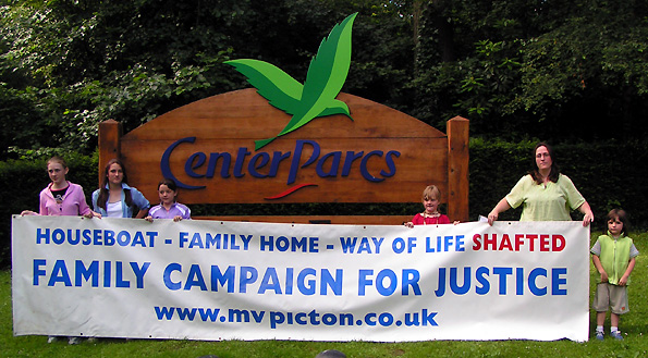 Center Parcs Family Campaign for Justice