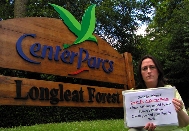 Center Parcs A Message For Director John Matthews