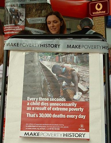 Poverty kills a child every 3 seconds