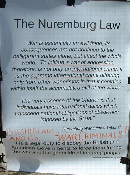 The Nuremburg Law