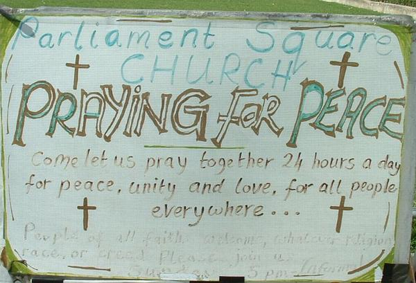 Parliament Square church