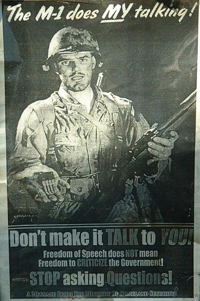 The M1 does my talking, don't make it talk to you