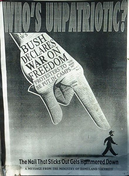 Who's unpatriotic?