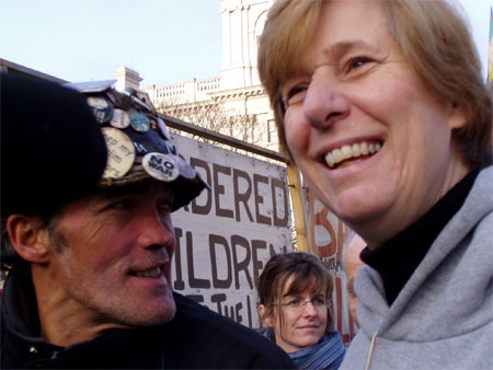 cindy sheehan and brian haw
