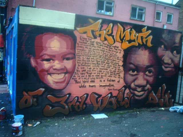 The original mural