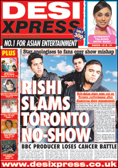 Desi Xpress is a national newspaper read by many Muslims