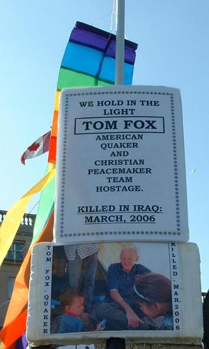 Tom Fox – Christian Peacemaker and Quaker