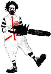 chainsaw ronald
