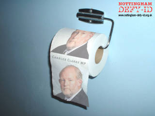 Clarke toilet paper - Order early to avoid disappointment!