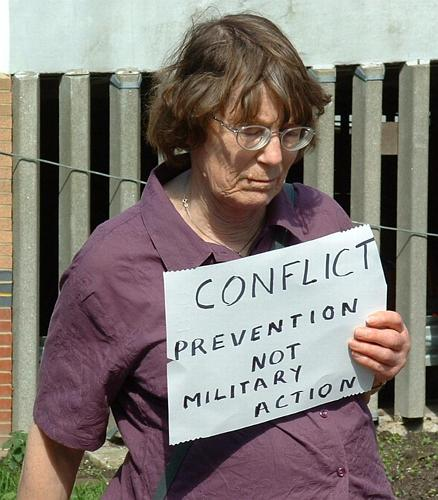 Conflict prevention not military action
