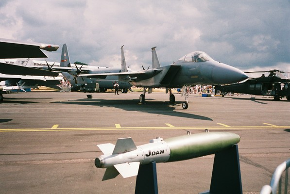 Joint Direct Attack Munition (JDAM) bombs
