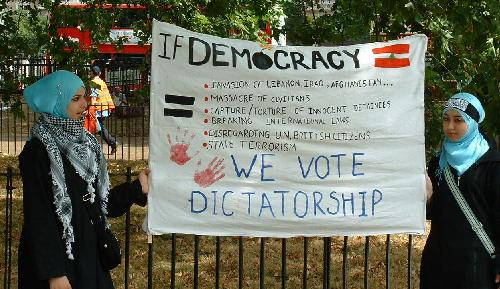We vote dictatorship