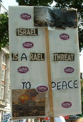 Israel is a rael threat to peace