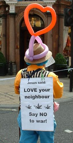 Jesus said love your neighbour